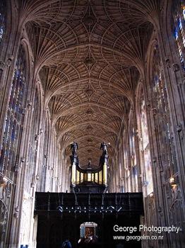 inside king college chapel