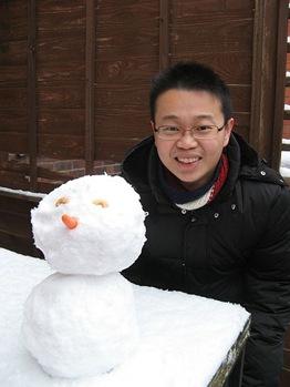 my first snow man