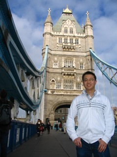 me with tower bridge